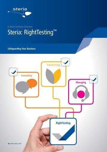 Steria: RightTesting™