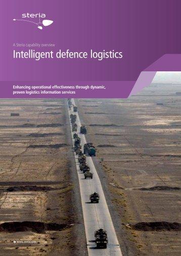 Intelligent defence logistics - Steria