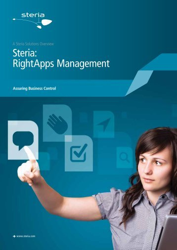 Steria: RightApps Management