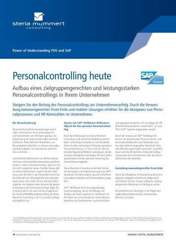 Personalcontrolling heute (PDF) - Steria