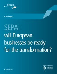 will European businesses be ready for the transformation? - Steria