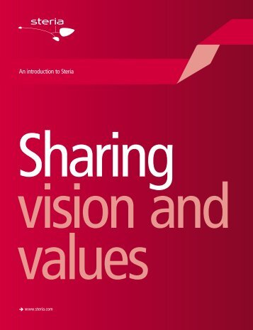 Sharing vision and values - an introduction to Steria