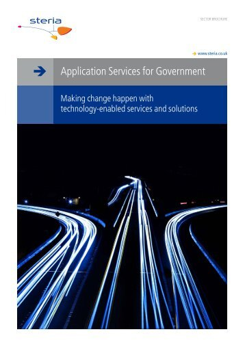 Application Services for Government - Steria