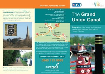 Grand Union Canal - Bletchley to Leighton Buzzard