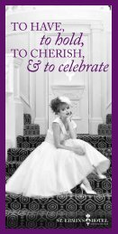 view our wedding brochure - St. Ermin's Hotel