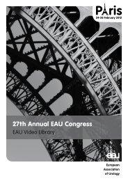 27th Annual EAU Congress