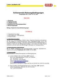 Download Schienennetz-Nutzungsbedingungen - Stern & Hafferl