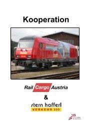 Weitere Informationen über diese Kooperation ... - Stern & Hafferl
