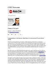 CNET News - NYU Stern School of Business