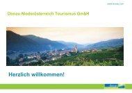 Donau Niederösterreich Tourismus GmbH - Ecoplus International ...