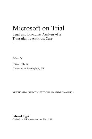 an analysis of the microsofts antitrust problems Microsoft security essentials (mse) is an antivirus software (av) that provides protection against different types of malicious software, such as computer viruses.