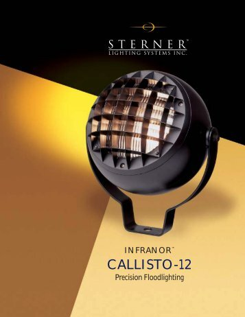 Callisto-12 Brochure - Sterner Lighting
