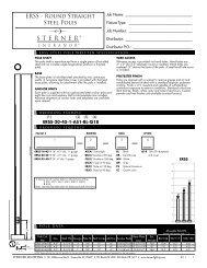 ERSS Spec Page - Sterner Lighting