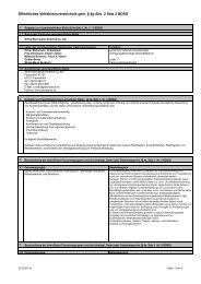 öffentlichem Verfahrensverzeichnis (PDF) - Alfred Sternjakob GmbH