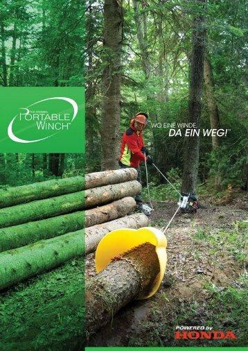 mobile Seilwinde - Sternkopf - Seil und Hebetechnik