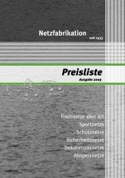 Fischnetze - Sternkopf - Seil und Hebetechnik