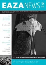 EAZA News 57-12 - European Association of Zoos and Aquaria