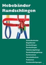 Rundschlingen - Sternkopf - Seil und Hebetechnik
