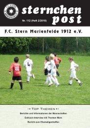 Endlich Sommerpause - FC Stern Marienfelde e.V.