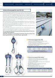 Höhensicherung-Abseilgeräte - Sternkopf - Seil und Hebetechnik
