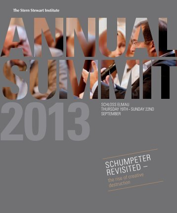 Download PDF – Agenda Annual Summit 2013 - Stern Stewart ...