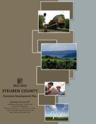 2011-2013 STEUBEN COUNTY Economic Development Plan