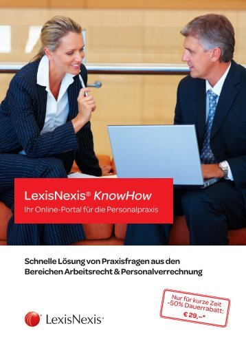 LexisNexis KnowHow2011_apr.indd - Steuer & Service