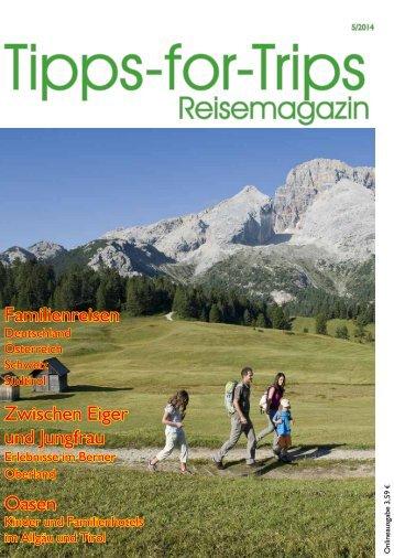 Tipps-for-Trips Reisemagazin 5.2014
