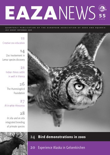 EAZA News 55-11 - European Association of Zoos and Aquaria