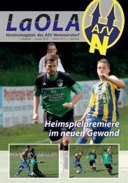 LaOla - Ausgabe 1 - Saison 2014/2015 - 10.8.2014