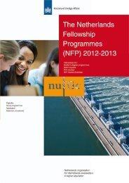 The Netherlands Fellowship Programmes (NFP) 2012-2013