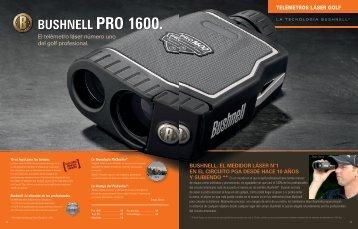 Bushnell PRO 1600.