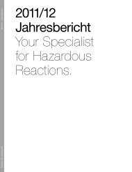 2011/12 Jahresbericht Your Specialist for Hazardous ... - Dottikon