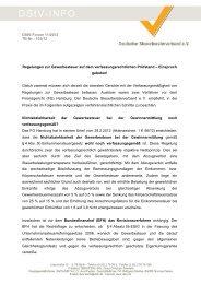 verfahrensrechtlichen Schritte - Steuerberaterverband Berlin ...