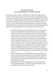 Eckpunkte für ein Projekt - Steuerberaterverband Berlin-Brandenburg