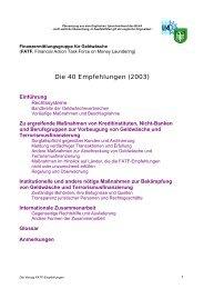 Die 40 Empfehlungen - Steuerberaterverband Berlin-Brandenburg