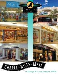 1710 Briargate Blvd, Colorado Springs, CO 80920 - Chapel Hills Mall