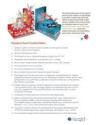 Shoebox Float Contest Rules