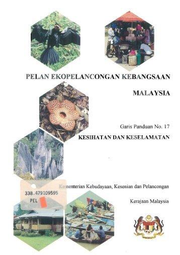 PELAN EKOPELANCONGAN KEBANGSAAN - WWF Malaysia
