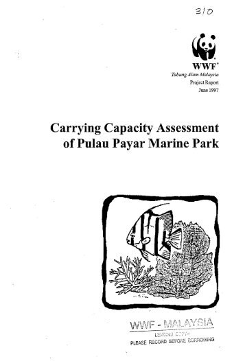 Carrying Capacity Assessment - WWF Malaysia