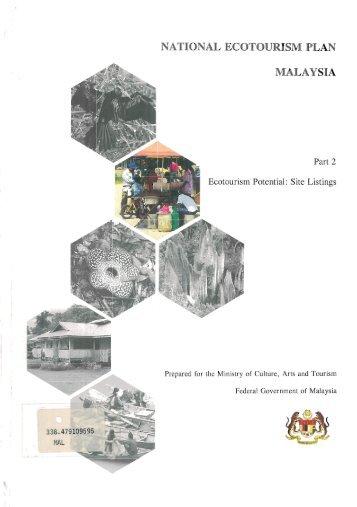 NATIONAL ECOTOURISM PLAN - WWF Malaysia