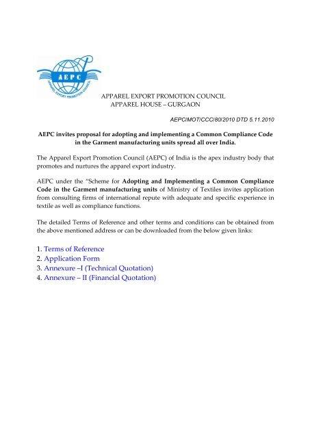 Download - Apparel Export Promotion Council