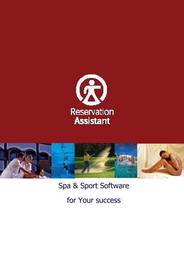 Spa & Sport Software for Your success - CADD Emirates