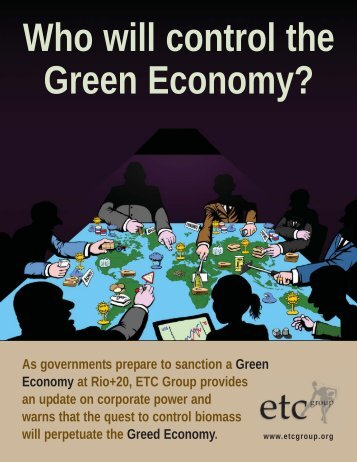 Who Will Control the Green Economy - ETC Group