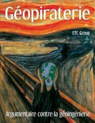 Nous sommes déjà en train de changer le climat ... - ETC Group