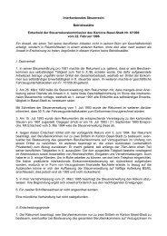Interkantonales Steuerrecht - Steuerverwaltung Basel-Stadt - Kanton ...