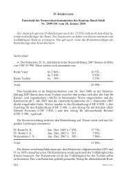 BStPra 6/2011 262-265 - Steuerverwaltung Basel-Stadt