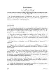 Berufsunkosten Aus - Steuerverwaltung Basel-Stadt