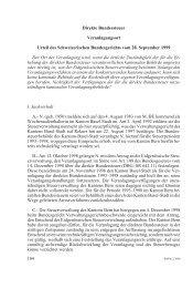 Direkte Bundessteuer Veranlagungsort Urteil des Schweizerischen ...