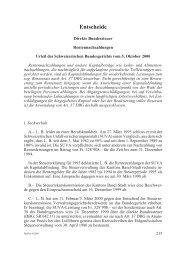 Entscheide - Steuerverwaltung Basel-Stadt - Kanton Basel-Stadt